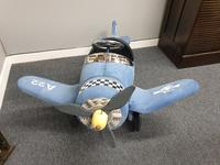 Airflow Collectibles inc. Child's A22 Navy Pedal Aeroplane (3 of 9)