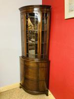 Glazed Corner Cabinet (2 of 7)