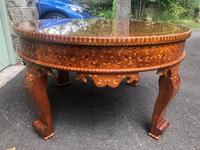 Antique Inlaid Syrian Coffee Table (7 of 12)