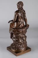 Stunning 19th Century French Bronze Sculpture by Auguste Moreau (9 of 10)