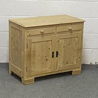 Small Old Pine Cupboard (4 of 4)