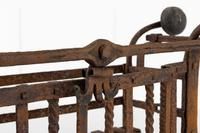Early 18th Century Dutch Wrought Iron Fire Basket (2 of 7)