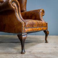 Wingback Leather Armchair (4 of 12)