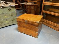 19th Century Camphor Campaign Trunk (12 of 14)