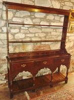 Georgian Oak Sussex Dresser with Rack (10 of 11)
