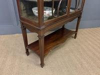 Carved Mahogany Display Cabinet (8 of 14)