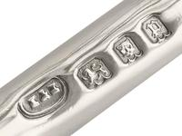 Sterling Silver Golf Toast Racks - George V 1930 (4 of 9)