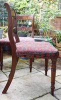 Good Set of Six Late Georgian Mahogany Dining Chairs (4 of 10)