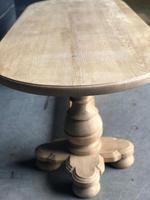 Bleached Oak Farmhouse Dining Table (12 of 12)