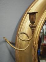 Large Regency Gilt Girandole Mirror (8 of 12)