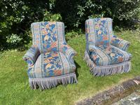 Pair of Small French Armchairs (2 of 8)