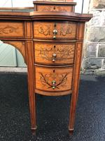 Inlaid Satinwood Carlton House Desk By Maple & Co (12 of 16)