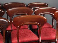 Set of 12 Scottish Mahogany Dining Chairs (13 of 18)