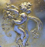 Victorian French Box With A Cherub To the top of the lid. (8 of 19)