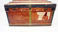 WW1 Era Marshall Campaign Chest / Trunk, Labels & Provenance (5 of 23)