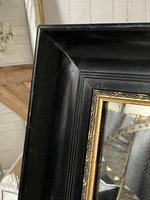 French Ebonised 19th Century Wall Mirror (13 of 16)