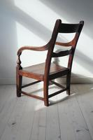 19th Century Scottish Vernacular Glasgow Pattern Joined Armchair c.1880 (10 of 24)