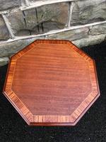 Antique Mahogany Tripod Wine Table Inlaid (3 of 5)