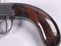 Mid 19th Century Percussion Boxlock Side Hammer Large Pocket Pistol (3 of 7)