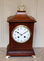 Mahogany Pagoda Style Mantel Clock (12 of 12)
