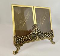 Pretty Brass Frame c.1920