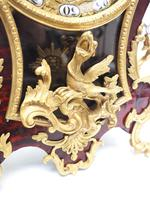 Outstanding Martinto Paris French Boulle Mantle Clock Ormolu Dragons Chinese Rider (7 of 10)