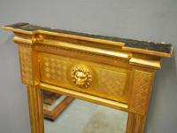 William IV Carved Giltwood Pier Mirror (10 of 10)