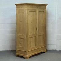 Old Continental Pine Knock Down Double Wardrobe (4 of 4)