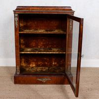 Pier Cabinet Inlaid Walnut 19th Century (8 of 13)