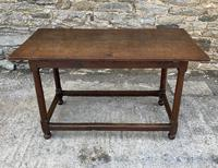 18th Century and Later Oak Refectory Table
