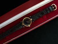 Cartier Vendome Quartz Wristwatch Black Face (3 of 3)