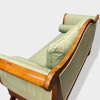 Walnut Biedermeier Sleight Style Sofa (9 of 10)