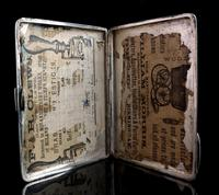 Antique Victorian Silver Card Case, Aesthetic (12 of 16)