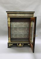 Pair of Victorian English Boulle Side Cabinets (11 of 11)