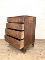 Georgian Oak Small Chest of Drawers (9 of 10)
