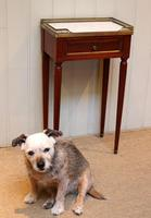 French Mahogany Marble Top Table (8 of 10)