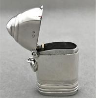 First World War novelty silver 'shell' vesta (2 of 9)