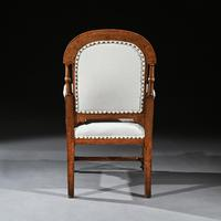 19th Century Oak Gothic Armchair By G Tilley Of Birmingham (5 of 10)