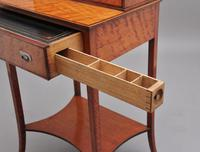 19th Century  Satinwood Ladies Writing Table in the Sheraton Style (13 of 15)