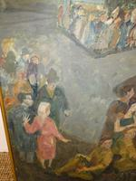 Scottish 1940s Wartime Oil Painting (4 of 7)