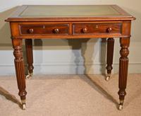 William IV Mahogany Small Writing Table