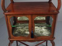 Victorian Inlaid Mahogany Display Table / Whatnot (6 of 12)