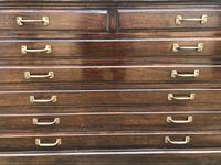 Desirable Mahogany Architects Plan Chest (6 of 6)
