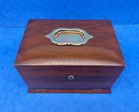 Victorian Walnut Jewellery Box c.1900 (3 of 13)