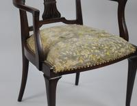 Antique Georgian Mahogany Armchair (3 of 8)