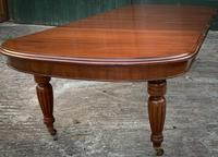 Victorian 3 Leaf Extending Dining Table Seats 10 (11 of 13)