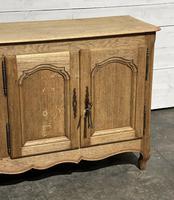 French Bleached Oak Sideboard or Dresser Base (10 of 23)