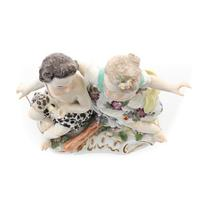 Meissen Porcelain Group of Two Young Figures (3 of 6)