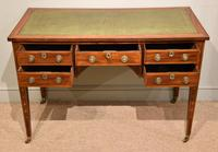 Regency Mahogany Writing Table Desk (6 of 8)
