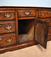 Mid 18th Century George III Large Oak Dresser Base (9 of 11)